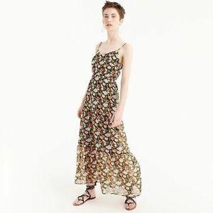 J. Crew Floral Maxi Dress